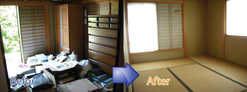三重県でごみ屋敷の片付けでお困りの際は三重リサイクルジャパンにお任せください。